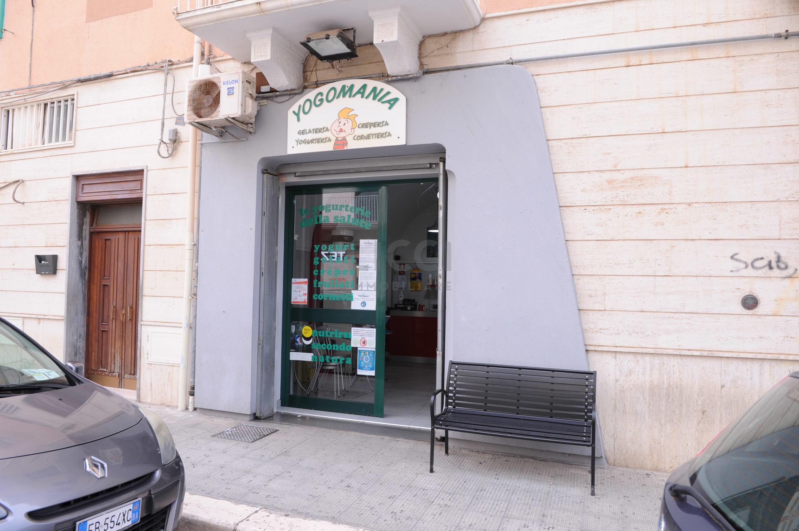 Gelateria a Monopoli, Centrale