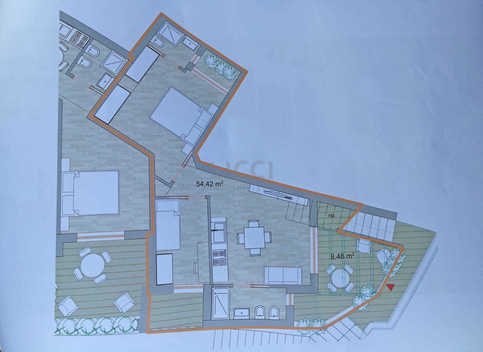 Appartamento a Polignano a Mare Via Don Lorenzo Milani NC, Vicinanze Mare